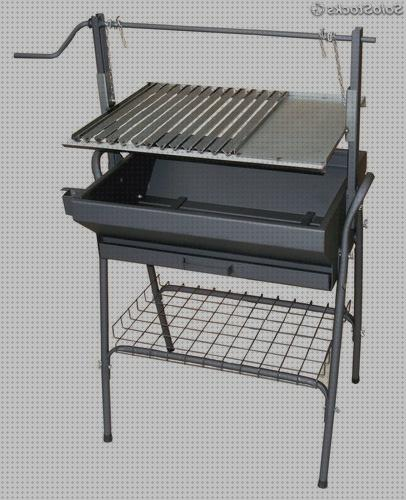 Review de parrilla barbacoa de inox elevable